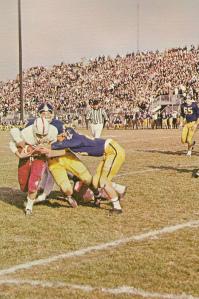 Liberty vs. Allen Liberty close to touchdown